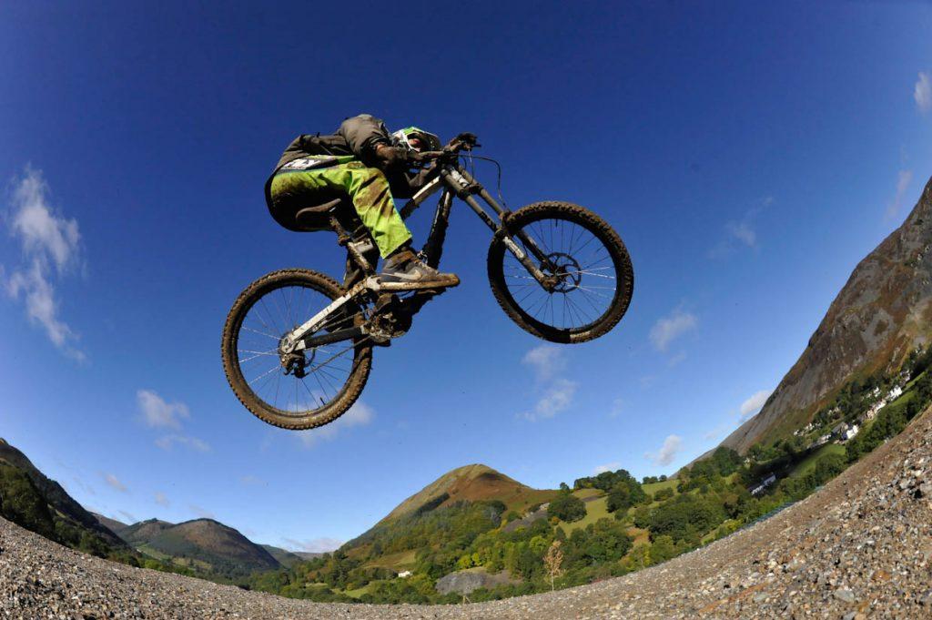 MTB Routes at Revolution Bike Park - Llangynog