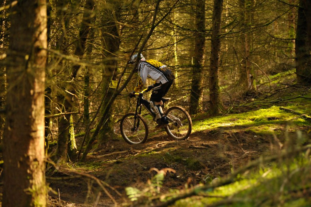 MTB Routes at Revolution Bike Park - Llangynog